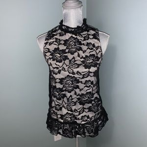 Another Story sleeveless Blouse size small